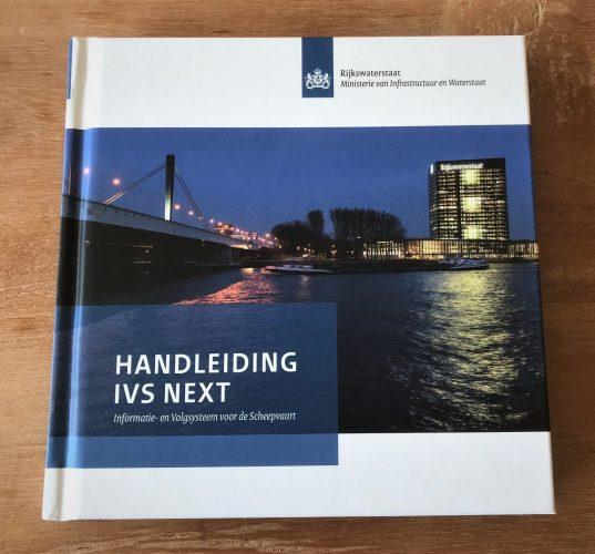 Mediazaken en Mmagine hebben voor Rijkswaterstaat de handleiding gemaakt voor IVS Next.