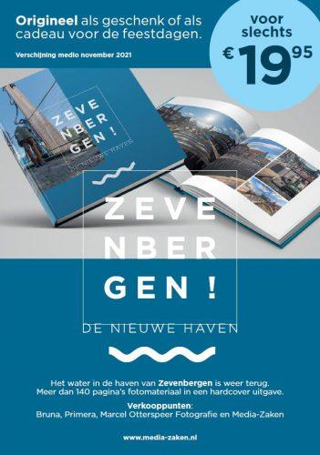 Boek: De Nieuwe Haven van Zevenbergen nu te bestellen!!! Verschijning medio oktober/november 2021
